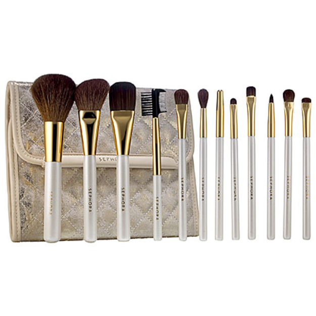 SEPHORA COLLECTION Gold Star Prestige Pro Brush Set