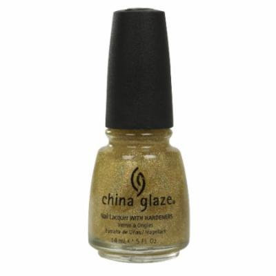 (3 Pack) CHINA GLAZE Nail Lacquer with Nail Hardner - Golden Enchantment