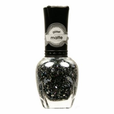 (6 Pack) KLEANCOLOR Glitter Matte Nail Lacquer - Score High, Spend Low
