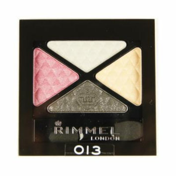 (3 Pack) RIMMEL LONDON Glam Eye Shadow Quad - Sweet Smoulder