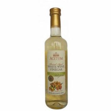 Acetum Selezione Barrel Aged White Wine Vinegar - 16.9 oz