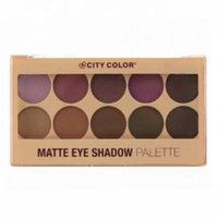 (6 Pack) CITY COLOR Matte Eye Shadow Palette