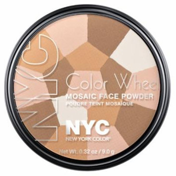 (3 Pack) NYC Color Wheel Mosaic Face Powder - Translucent Highlighter Glow
