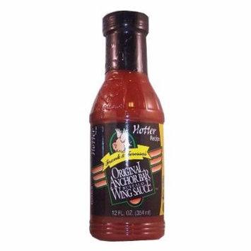Frank & Teressa's Original Anchor Bar Buffalo Wing Sauce Hotter Recipe 12oz
