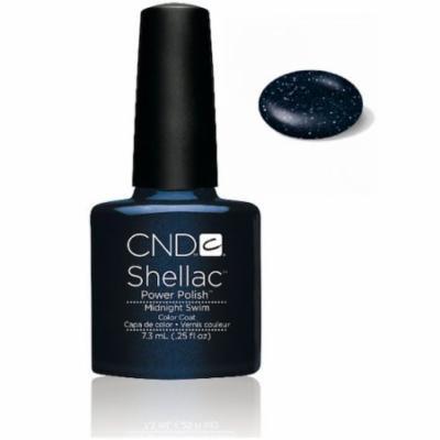 CND Shellac Midnight Swin Gel Polish, 0.25 fl. oz.