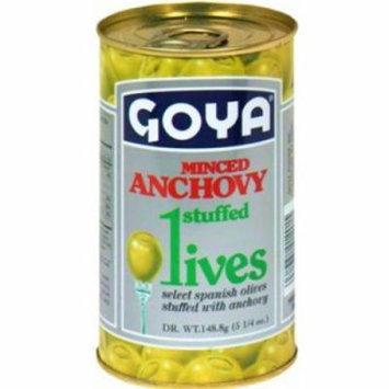 Goya Minced Anchovy Stuffed Olives, 5.25 oz.