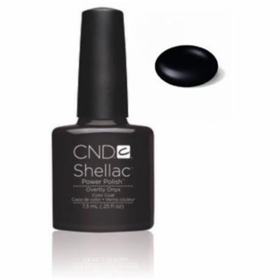 CND Shellac Overtly Onyx Gel Polish, 0.25 fl. oz.