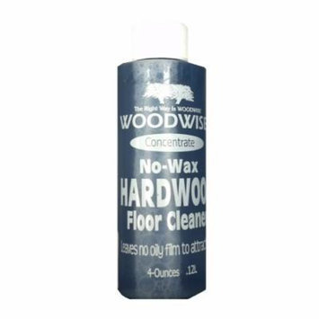 Woodwise No-Wax 4oz Concentrate Hardwood Floor Cleaner