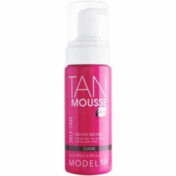 ModelCo Tan Mousse, Dark, 3.38 fl. oz.