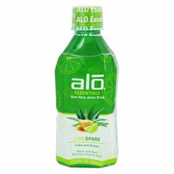 ALO - Essentials Aloe Vera Juice Drink Lime Spark - 11.8 oz.