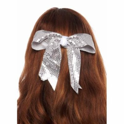 Greatlookz Stagedoor Sequins Hair Bow with Tails