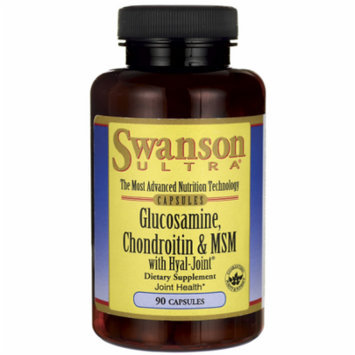 Swanson Glucosamine, Chondroitin & Msm with Hyal 90 Caps