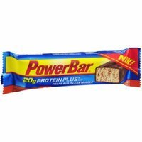 PowerBar Protein Plus Chocolate Peanut Butter Protein Bars, 2.1 oz, 15 count