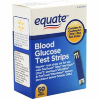 Equate Blood Glucose Test Strips, 50 count