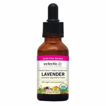 Lavender Extract Eclectic Institute 2 oz Liquid