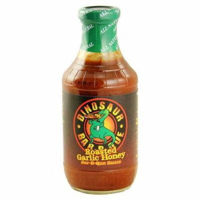 Dinosaur Bar-B-Que Roasted Garlic Honey BBQ Sauce 19oz.