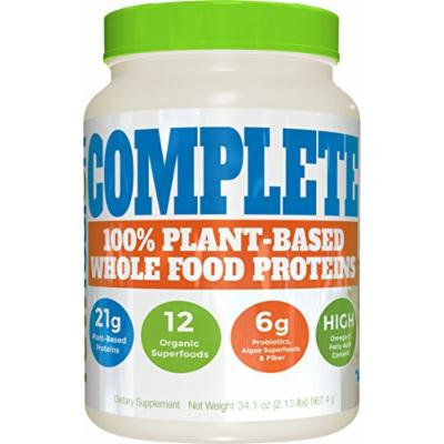 SAN Raw Fusion Complete Nutrition Supplement, Vanilla Bean, 34.1 Ounce