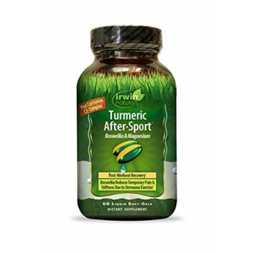 Irwin Naturals Body-well Turmeric Plus Supplement, 60 Count