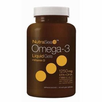 NutraSea+D3 Omega-3 Ascenta 60 Softgel