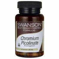 Swanson Chromium Picolinate 200 mcg 60 Caps