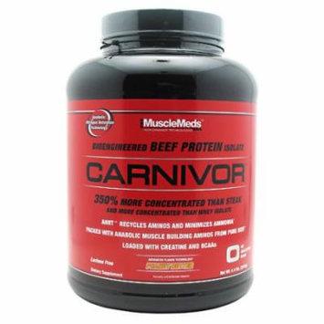 Muscle Meds Carnivor Peanut Butter - 4.4 lb (2016g)