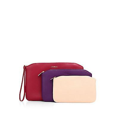 Furla Venere Cosmetic Cases/Set of 3 - Lampone