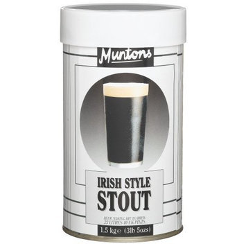 Muntons Irish Style Stout Beer Making Kit, 53-Ounce Can