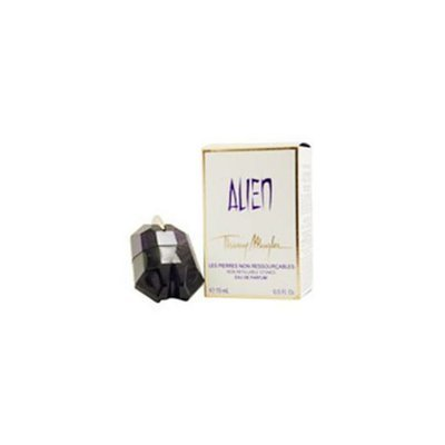 Alien By Thierry Mugler Secret Stone Eau De Parfum Spray . 5 Oz & Body Lotion Voile D'eclat Sachet . 33 Oz (travel Offer)