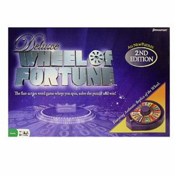 Wheel of Fortune Deluxe 2nd Edition Electronic Game Ages 8+