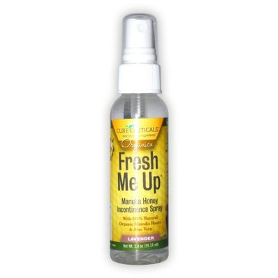 Cureceuticals Fresh Me Up Incontinence Manuka Honey Daily Hygiene Spray - Lavender, 2-Ounce