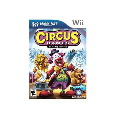 UBI Soft Family Fest Presents: Circus Games (Nintendo Wii)
