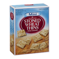 Red Oval Farms Stoned Wheat Thins Snack Crackers
