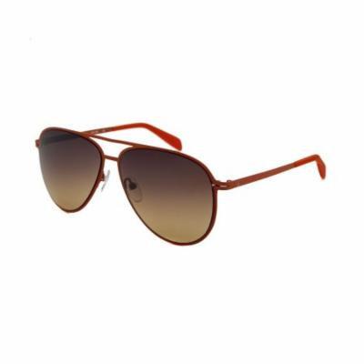 Calvin Klein 2138S-286 Aviator Orange Sunglasses