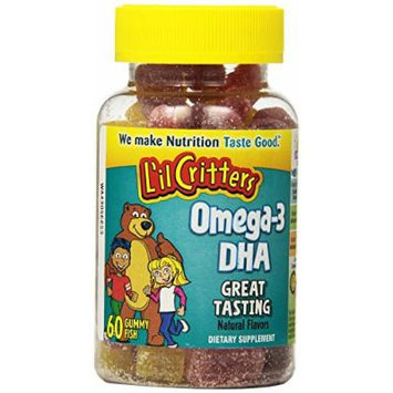 Lil Critters Omega-3 DHA, 60 Count
