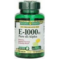 Nature's Bounty E 1000iu Pure D1-Alpha Softgels, 2 Count