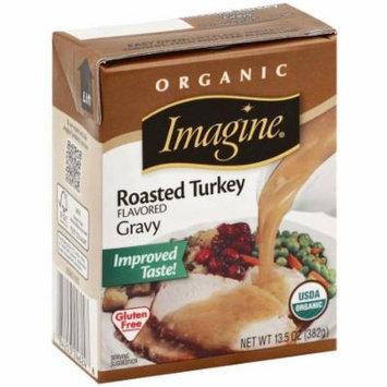Imagine Organic Roasted Turkey Flavored Gravy, 13.5 oz., (Pack of 12)