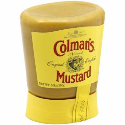 Colmans Squeeze Mustard, 5.3 oz, (Pack of 6)