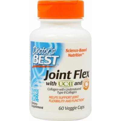 Doctor's Best Joint Flex with UCII and Curcumin-60 Vegi Caps