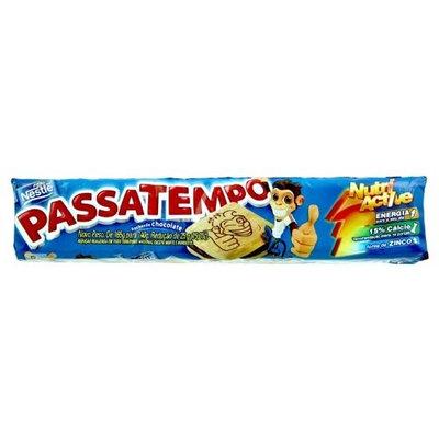 Nestlé Chocolate Filled Cookies Passatempo - 4.93oz - Biscoito Passatempo Recheio de Chocolate - 140g
