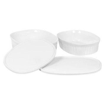 CorningWare Corningware French White Oval Casseroles - 4 piece