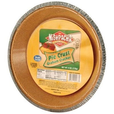 MISHPACHA Graham Pie Crust, 6-Ounce Tins (Pack of 6)