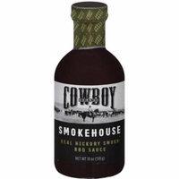 Cowboy Charcoal Hickory Smoke Bbq Sauce, 18 oz, (Pack of 6)