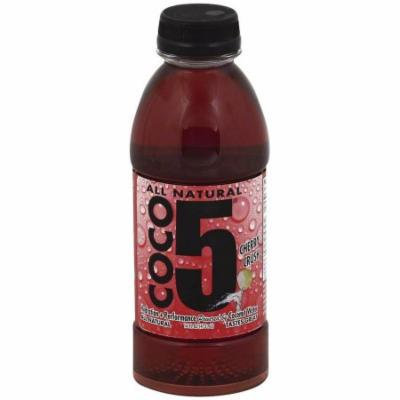 Coco5 Cherry Crush Coconut Water, 16 fl oz, (Pack of 12)