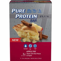 Pure Protein Plus Apple Pie Bars, 2.11 oz, 4 count