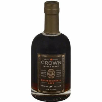 Crown Maple Bourbon Barrel Aged Syrup, 12.7 fl oz, (Pack of 6)