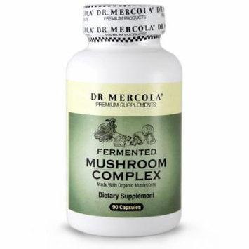 Dr. Mercola Fermented Mushroom Complex - 90 Capsules - Made With Organic Mushrooms - 100% Certified Organic