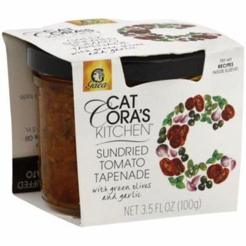 Gaea Cat Cora's Kitchen Sundried Tomato Tapenade with Green Olives and Garlic, 3.53 fl oz, (Pack of 6)