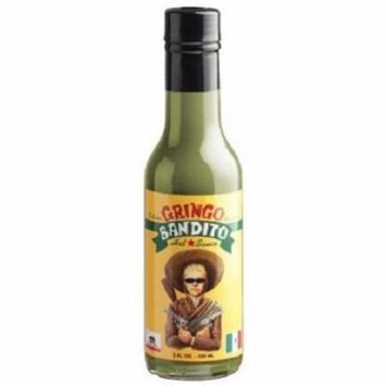 Gringo Bandito Green Hot Sauce The Original 5oz Bottle