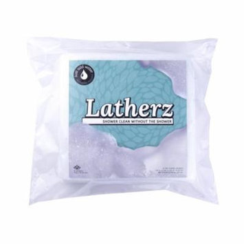 All NEW! All in one No Rinse Washing / Bathing Bath or Shower Cleansing Sponge / Wipes - Great For When a Shower or a Bath is Inconvenient or Unavailable - Pack of 25 Cloths - Made By Latherz