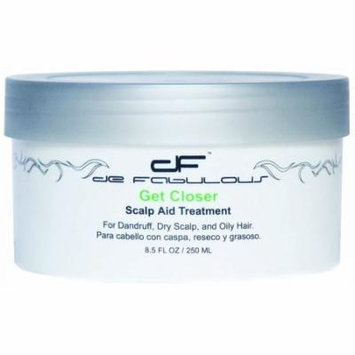 de Fabulous Get Closer Scalp Aid Treatment, 8.5 oz.
